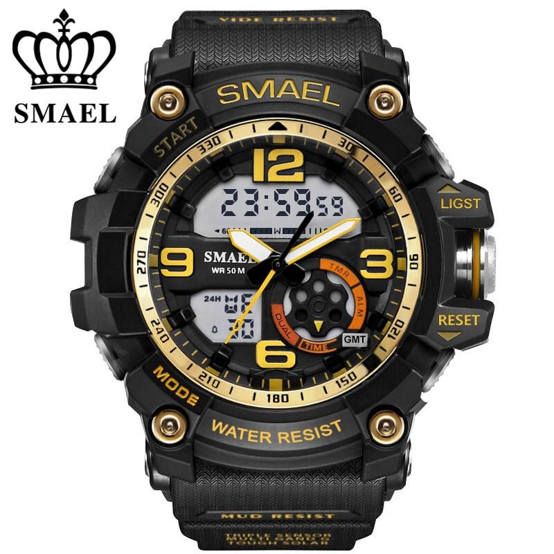 SMAEL αναλογικό-ψηφιακό ρολόι ανδρών - Ανδρικά ρολόγια - Φωτογραφία 5