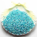 2mm SS6 5000pcs/pack Non Hot-Fix resin rhinestone Light Blue AB Jelly stone For DIY Nail Art Mobile Phone gems