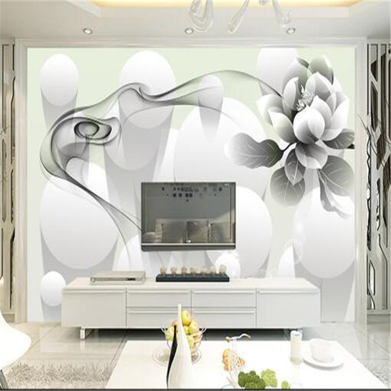 custom 3d photo non-woven mural wallpaper modern simple aesthetic black and white smoke flower bedroom TV wallpaper murals  free shipping hepburn classic black and white photographs women s clothing store cafe background mural non woven wallpaper