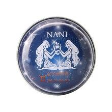 1 Pc da Constelação dos Gêmeos Perfumes Sólidos Mágicos Perfume Fragrância Desodorante