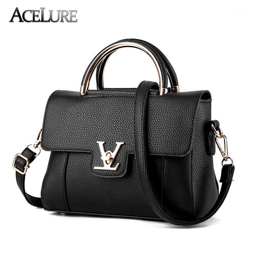 Women Handbag 2017 New female PU leather Messenger handbags Exquisite women portable shoulder bag Top-handle bag Bolsa Feminina