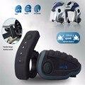 V8 BT Домофон с Пульта дистанционного управления FM NFC 5 Всадников intercomunicador motocicleta 1200 М Bluetooth Мотоцикл Домофон