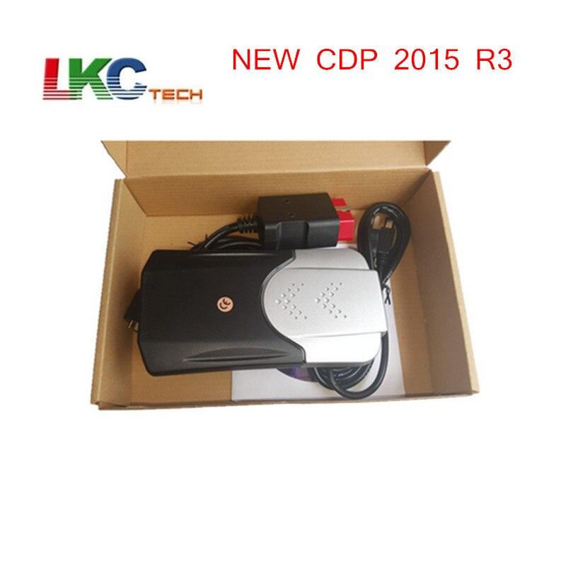 2018 Nouvelle Arrivée TCS CDP Date 2015. R3 Keygen Nouveau TCS CDP nouveau VCI Auto Outil De Diagnostic De Voiture Scanner TCS CDP PRO Pour voitures/Camions
