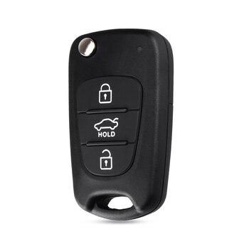 Chiave Telecomando per Hyundai I30 IX35 Kia K2 K5 sportage picanto 3 rio Folding Remote Key Cut Blade 1