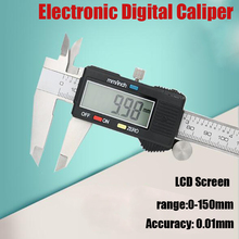 Sale Stainless Steel Electronic Digital Caliper Precision 0-150mm 0.01mm Calipers  Measurement Tool with LCD Screen