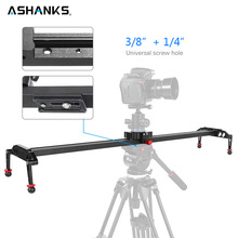 ASHANKS 100 ซม./39.37 กล้องอลูมิเนียม Damping Slider Track Video Stabilizer Rail Track Slider สำหรับ DSLR หรือกล้องวิดีโอ