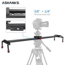 ASHANKS 100cm/39.37 Camera Slider Aluminum Alloy Damping Slider Track Video Stabilizer Rail Track Slider for DSLR or Camcorder