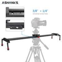 ASHANKS 100cm/39.37'' Camera Slider Aluminum Alloy Damping Slider Track Video Stabilizer Rail Track Slider for DSLR or Camcorder