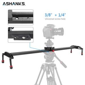 Image 1 - Ashanks 100 cm/39.37 카메라 슬라이더 알루미늄 합금 댐핑 슬라이더 트랙 dslr 또는 캠코더 용 비디오 안정기 레일 트랙 슬라이더