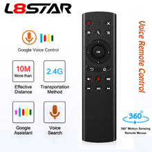 L8star G20S G20 2.4G Wireless Gyro Air Mouse IR RF Remote Voice Control Universal Mini Keyboard Control For PC Android TV Box l8star g10 air mouse voice control with 2 4g usb receiver gyro sensing mini wireless smart remote for android tv box