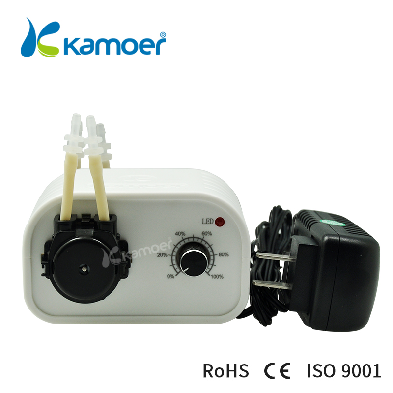 Kamoer NKCP peristaltic pump mini dosing pump 24V microdispensing filling machine adjustable flow купить в Москве 2019