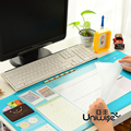 Brand New Non-slip PVC Desktop Mouse Pad Office Desk Mat Colorful Computer Desk Mouse Mat Multi Purpose Card Position Ruler