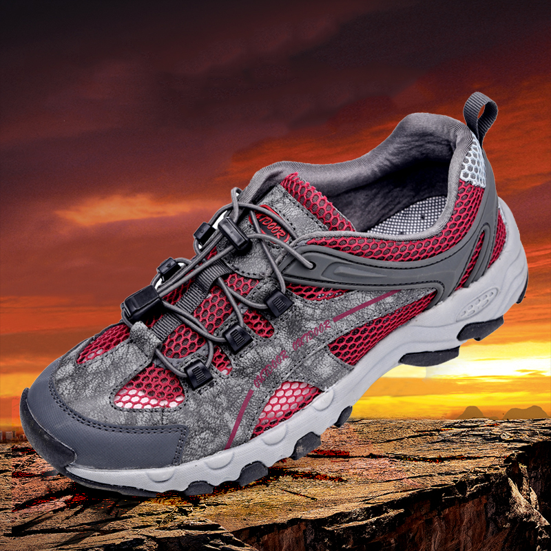 Hiking Shoes Men Air Mesh Trekking Sandals Wading Upstream Breathable Sport Shoes Male Protect Foot Toe Water Sneakers OutdoorHiking Shoes Men Air Mesh Trekking Sandals Wading Upstream Breathable Sport Shoes Male Protect Foot Toe Water Sneakers Outdoor