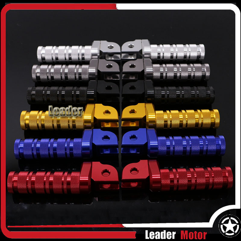 For KAWASAKI Z800 Z650 Z900 Z1000 Z750 ZX-10R ZX-6R NINJA 650 1000 400 ER-6N/6F Versys 1000 Rotating Front Footpegs Foot Pegs for kawasaki er 6n 2009 2015 ninja 650 er 6f er 6f 2009 2015 balance shock front fork brace gold
