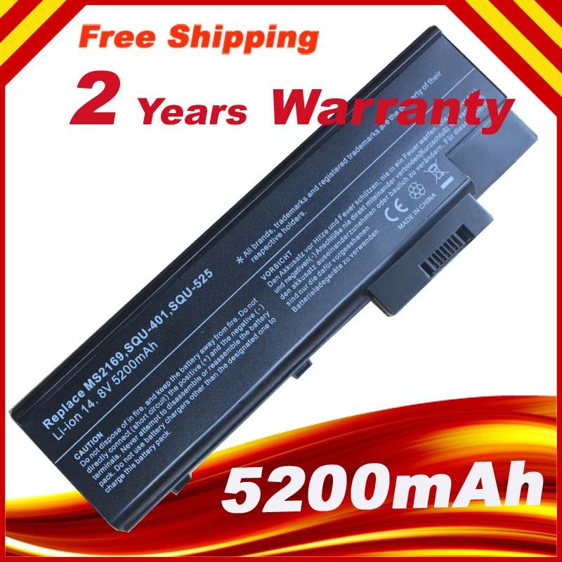 4400 mah batterie d'ordinateur portable pour acer aspire 1410 1415 1640 1650 1680 1685 1690 1695 3000 5000, TravelMate 2300 4000 4060 4100 4500