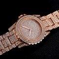 2017 Новый Роскошный Алмазный Женские Часы Модный Бренд Браслет Из Нержавеющей Стали Наручные Часы Женщин Дизайн Кварцевые Часы Часы Reloj
