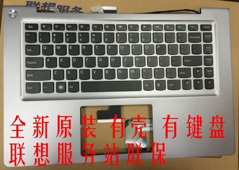 New  FOR LENOVO U400 laptop keyboard English US  shelled UNPROFOR new original laptop keyboard for lenovo thinkpad t460p t460s us keyboard english with backlit backlight 00ur395 00ur355