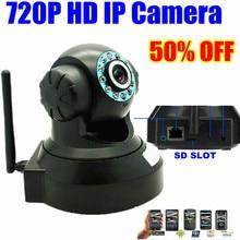 1mp MINI IP Camera HD 720P Wireless Wifi surveillance video Pan/Tilt webcam CCTV security IP Kamera Camera Micro SD Slot audio