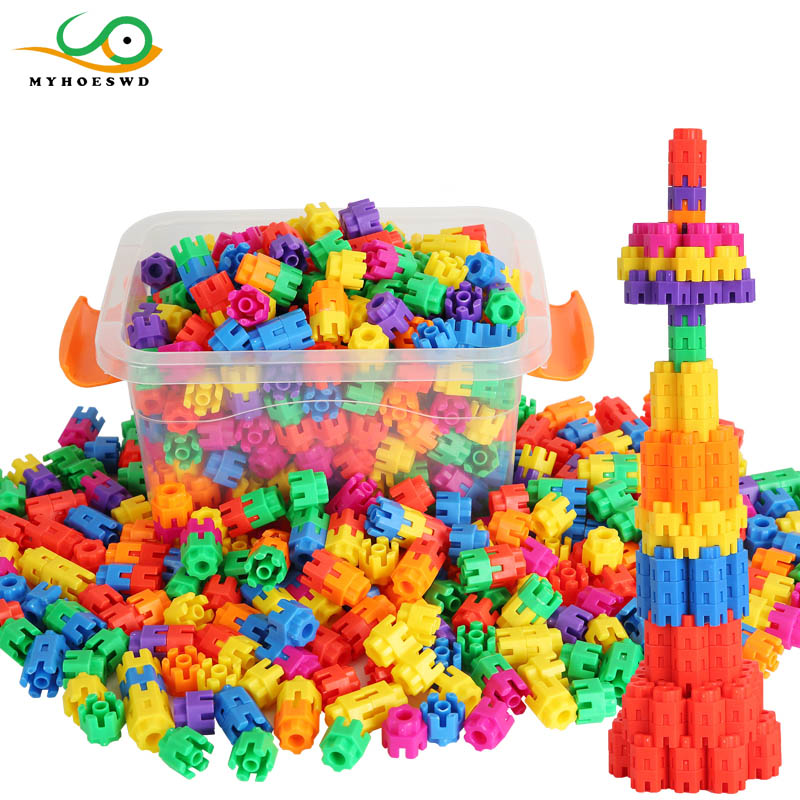 MYHOESWD 800pcs Robot Assembly Toy Creative Building Blocks Construction Toys Set Assembly Toys For Children Kids Handmade Toys