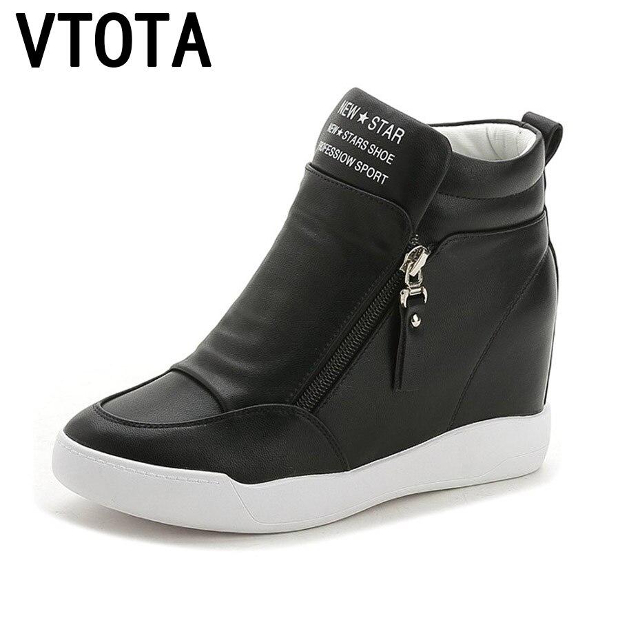 VTOTA Haute Talons Chaussures Femme Mode Fringe Femmes Sneakers Mocassins Plate-Forme Chaussures Zapatos Mujer Chaussures Femme Automne Chaussures