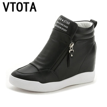 VTOTA High Heels Shoes Woman Fashion Fringe Women Sneakers L