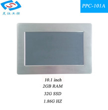 original manufacturer 10.1 inch all in one touch screen mini industrial panel pc with 3G & wifi module