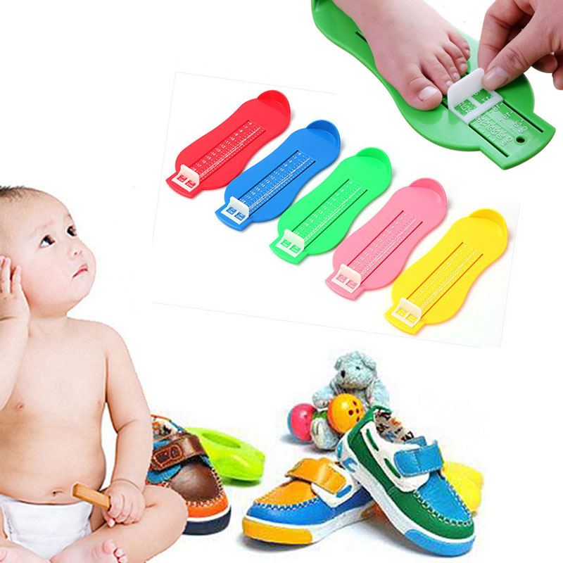 Shoes Kids Children Baby Foot Shoe Size Measure Tool Infant Device Ruler Kit For Kids I0030