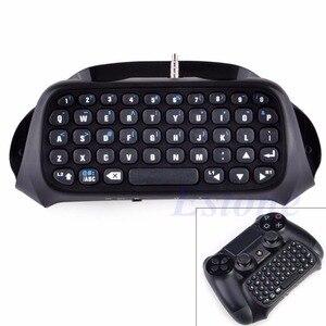 Image 2 - Dla Sony PS4 PlayStation 4 kontroler akcesoriów Mini bezprzewodowa klawiatura Bluetooth