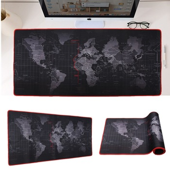 600x300/700x300/800x300/900x400 мм карта мира Блокировка края коврик для мыши геймер большой размер компьютерный коврик для клавиатуры игровой коврик для...