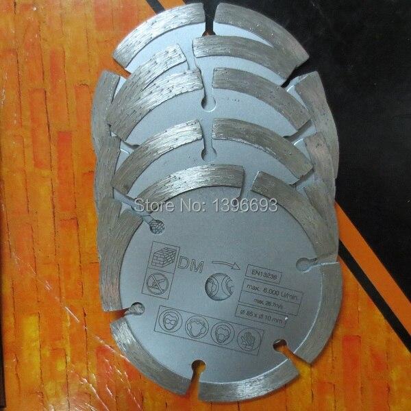 5本/ロット、85x2.0x10mm、小型鋸刃多機能鋸スペア刃、花崗岩切断ディスク、大理石切断刃。送料無料!