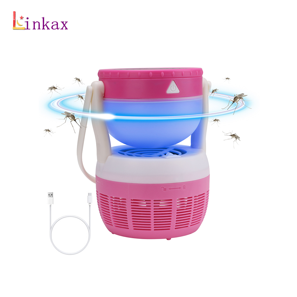 2 in 1 Mosquito Killer Lamp Trap Electric UV Lamp Night Light Fly Bug Trap Lamps Killing Mosquito Zapper Pest light befeel portable environmental protection mosquito killing lamp
