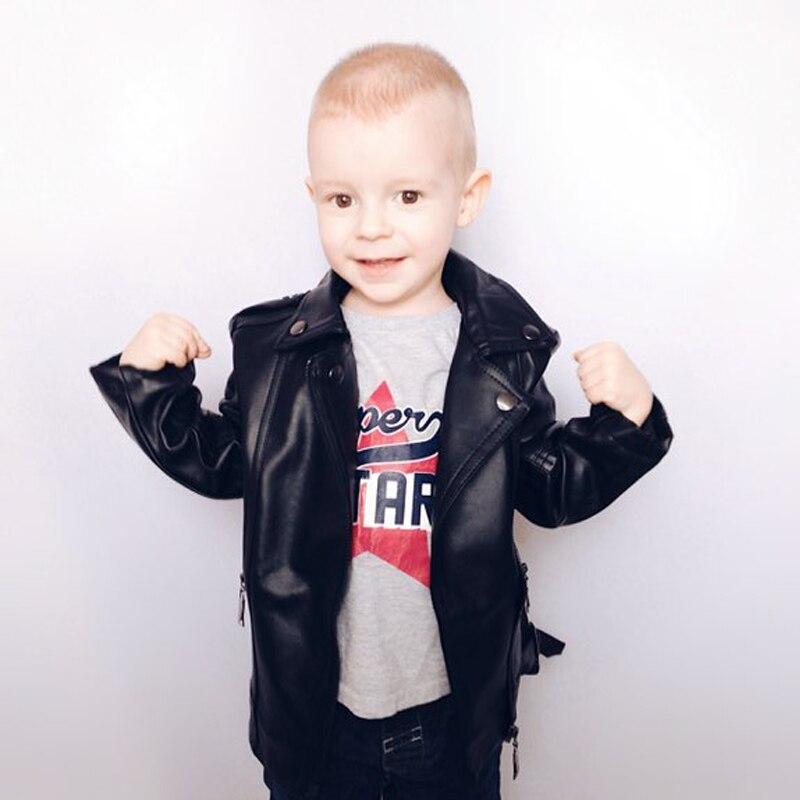 6fc28ecedda56 Survêtement et Manteaux Toutes catégories 1-7 ans Garçons en cuir veste  enfants de vêtements garçons ...