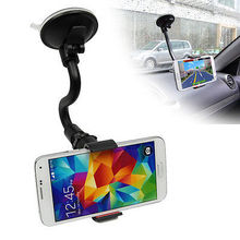 Windshield Dashboard Phone Holder Car Mount Cradle Stand Kit for iphone 4 4s 5 5s 6 plus for elephone p7000 car swivel mount holder for iphone 4 4s black