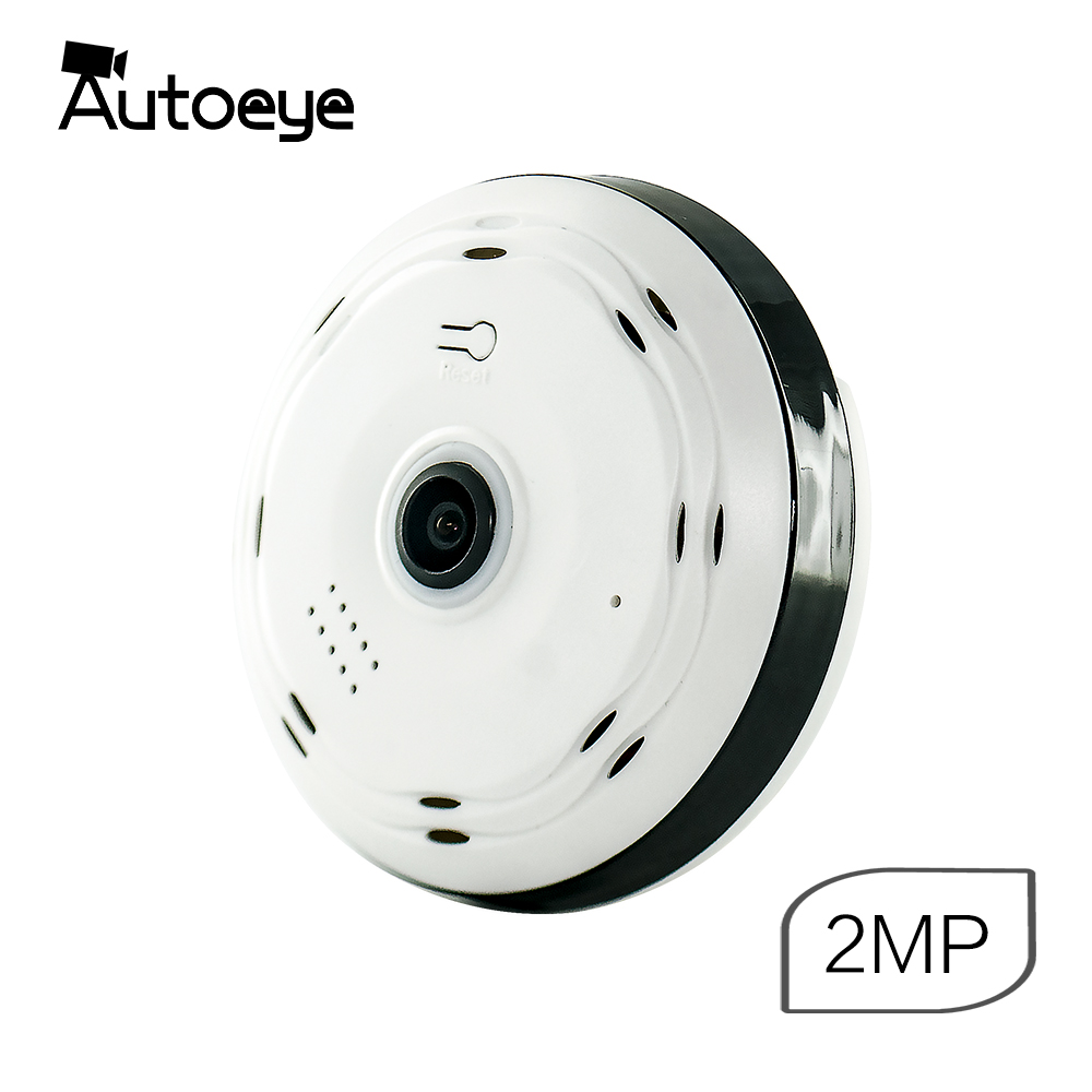 Autoeye 3D Fisheye IP Camera 1080P 960P 2MP 1 3MP 360 Degree Home Security WiFi VR
