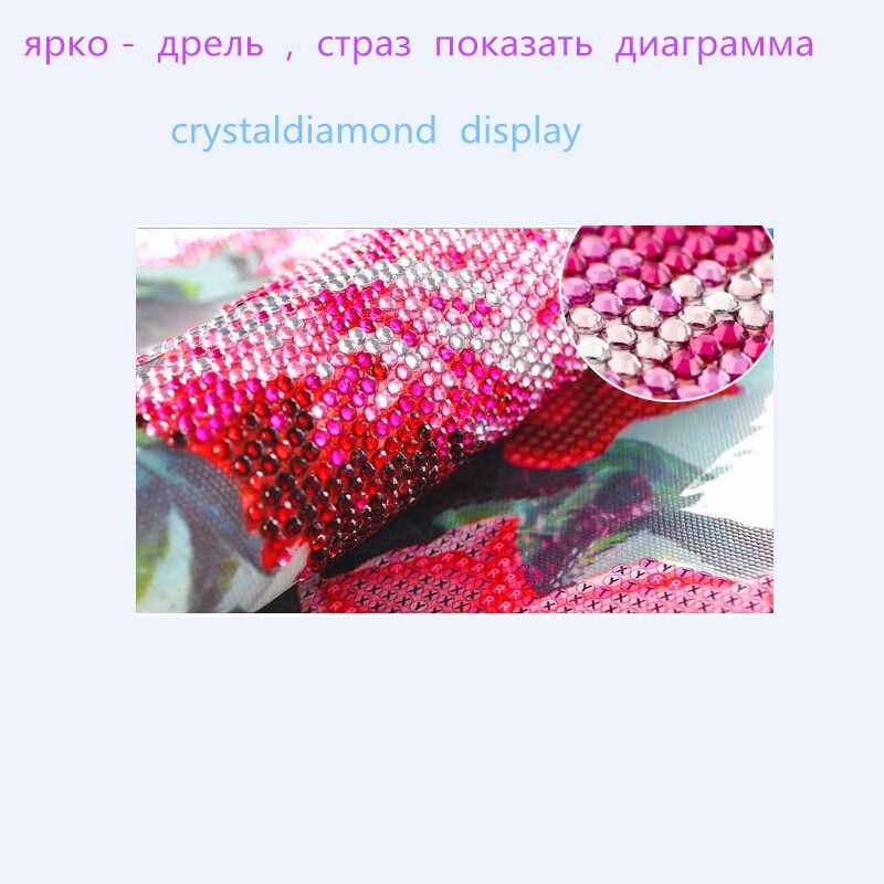 2018 Diy الماس التطريز أيقونة الدين الراين عبر عدة خياطة فسيفساء الحرف اليدوية 5D DIY كريستال الماس اللوحة هدية
