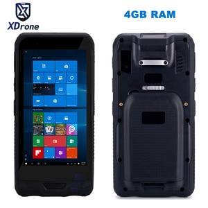 Image 1 - Китайский Прочный мини ПК планшет карманный мобильный компьютер Windows 10 планшет 4 Гб ОЗУ 64 Гб ПЗУ IP67 ударопрочный GPS 2D сканер штрих кода PDA