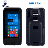 China Rugged Mini PC Tablet Pocket Mobile Computer Windows 10 Tablet 4GB RAM 64GB ROM IP67 Shockproof GPS 2D Barcode Scanner PDA