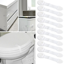 New 10 Pcs Child Infant Baby Kids Drawer Door Cabinet Cupboard Toddler Safety Locks