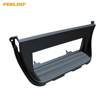 FEELDO автомобиля 1DIN стерео CD Радио Фризовая Панель рамка для JAGUAR (европейский) приборной панели Установка монтажный комплект #5226
