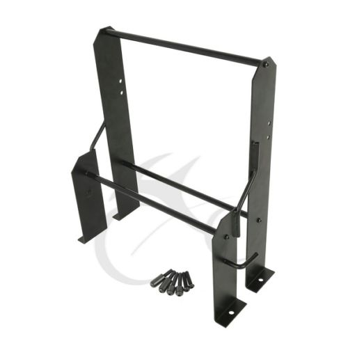 Black Tour Pak Pack Accessory Motor Storage Rack For
