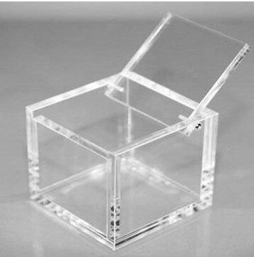 Clear Plastic Square Weeding Packing Box , Clear Acrylic Food Box , High  Quality Plexiglass Jewelry Dispplay Box ,100pcs/lot In Storage Boxes U0026 Bins  From ...