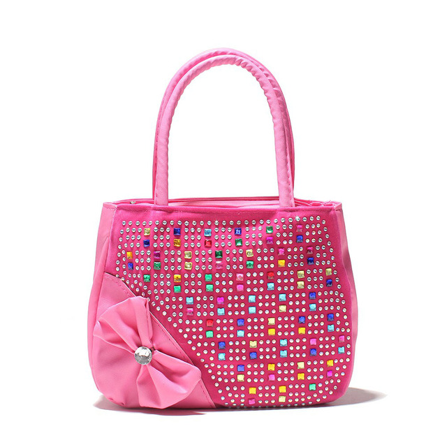Girl handbag kids tote Hot Selling Kids Girls Fashion Handbags Children Shoulder Zipper Party Messenger Bags for girl 3