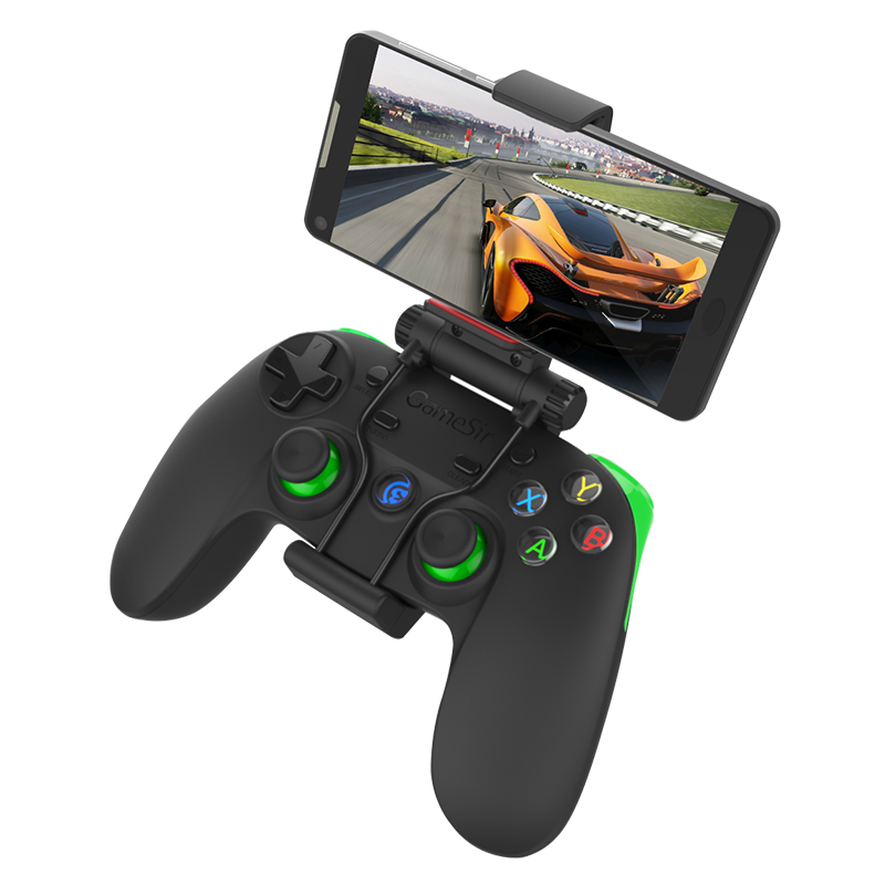 GameSir G3s Telefono Senza Fili Bluetooth Gamepad PC Controller per PS3 Android TV BOX Tablet VR, per l'interruttore (Verde)