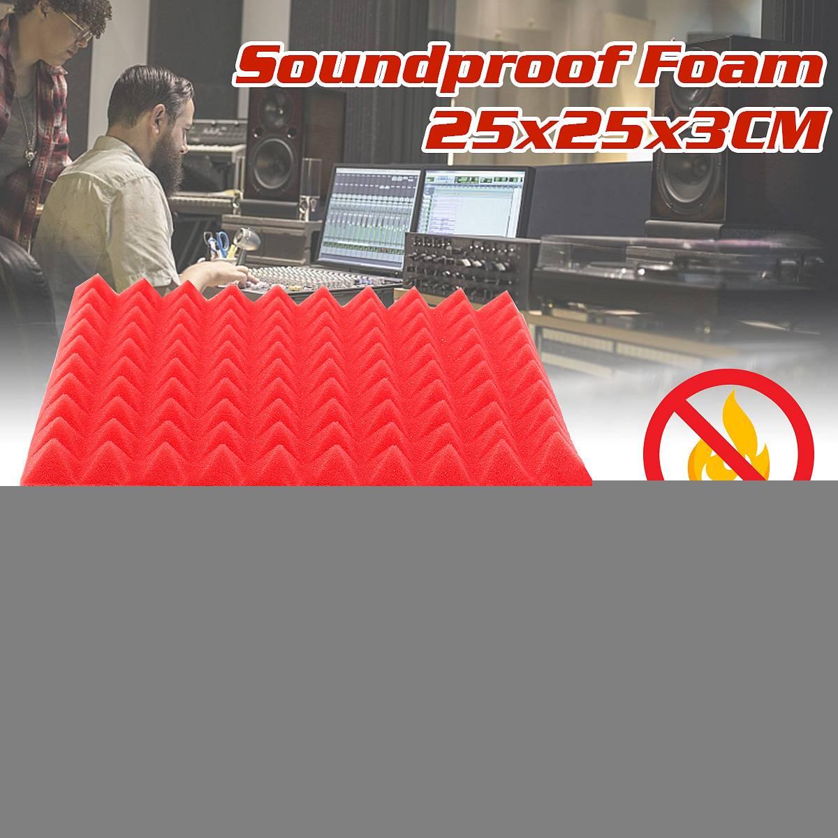 Abdichtung Streifen Akustische Schaum Panel Sound Stoppen Absorption Schwamm Studio Ktv Schalldichte Hardware