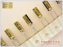 30PCS Nichicon (fine gold) FG series 1uF/50V audio electrolytic capacitors free shipping конденсатор nichicon fg 35v 1000 uf