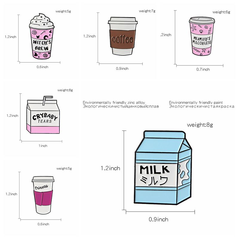 QIHE-JEWELRY-Coffee-pins-Travel-cup-brooches-To-go-cup-badges-Milk-lapel-pins-Gift-for(2)