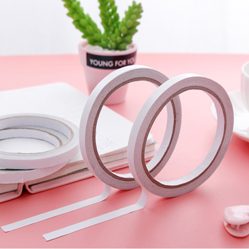 1.2M Adhesive Strong Doublesided Tape Surface 8mm-12mm 2019 New Hardware White Strong Tape