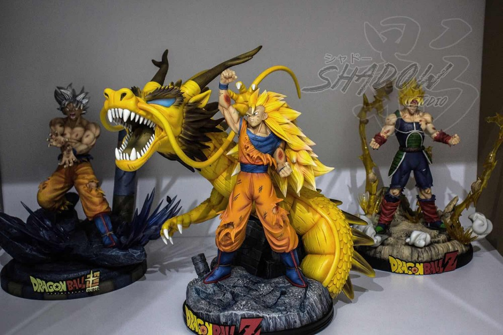 Toys & Hobbies Dragon Ball Z Dbz Super Saiyan Goku Vs Frieza Statue Gk Resin Figure In Stock