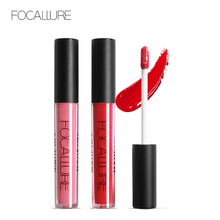 Focallure Lip Tint Cosmentic Waterproof Lipgloss Pigment Red Purple Brown Color Sexy kit Matte Liquid Lipstick Nude Makeup