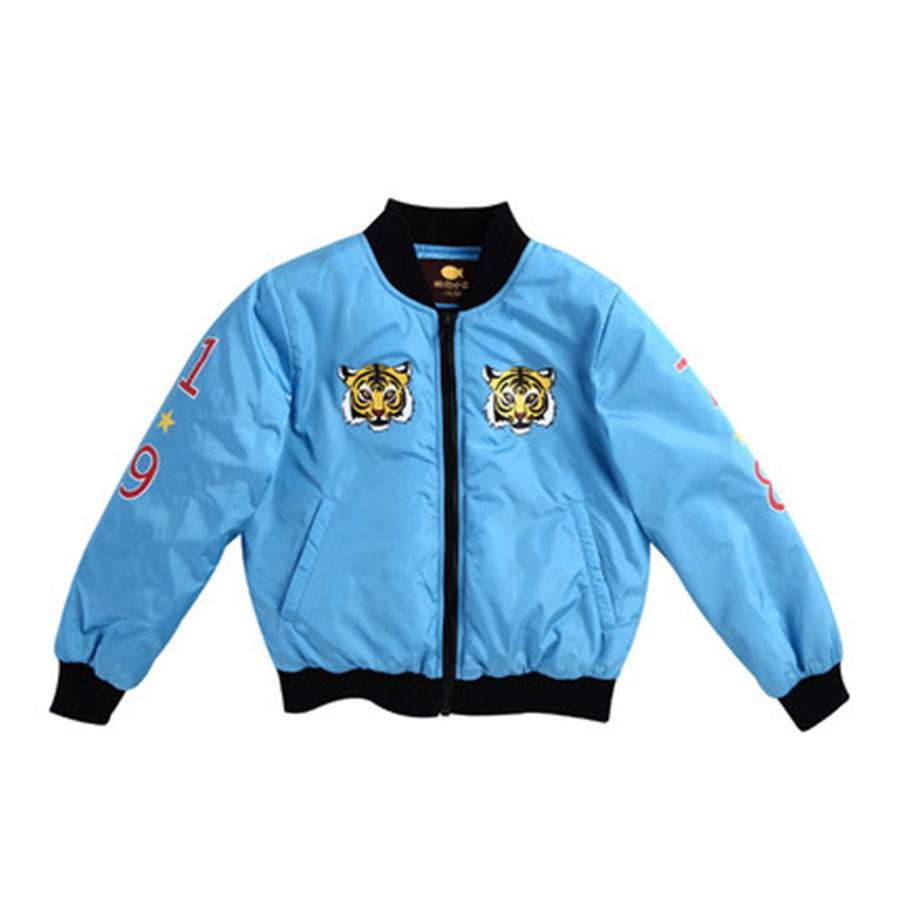Spring Autumn Fashion Boy Jacket Baseball Uniform Kids Jacket Luxury High Quality Winter Boy Cardigan Coat Casual 70F1645